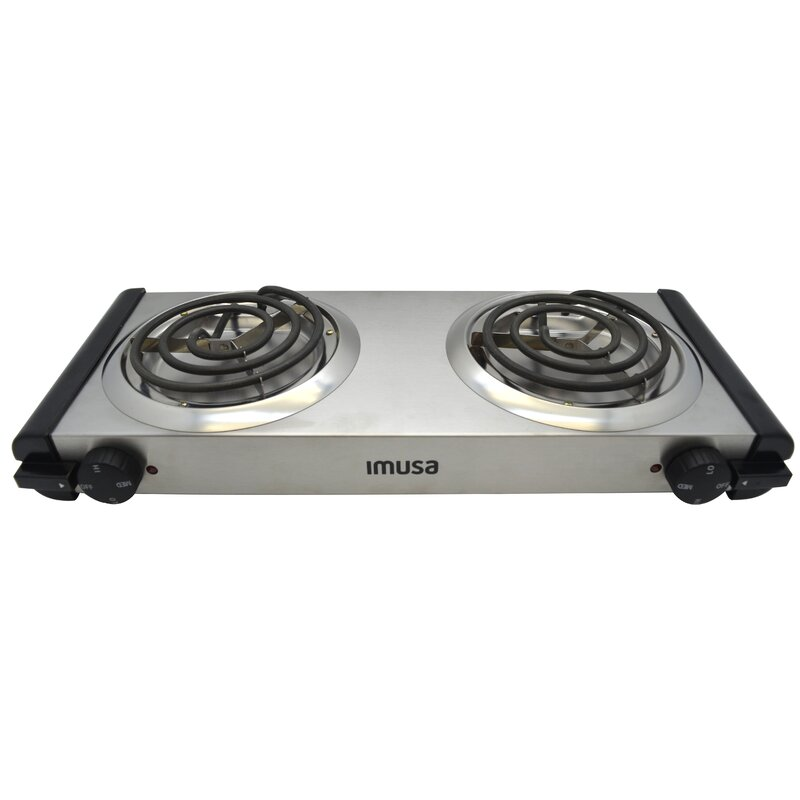 Imusa Electric Double Burner Reviews Wayfair Ca