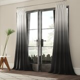 Black Ombre Curtains Wayfair