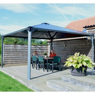 Palram 14 FT. W x 14 Ft. D Aluminum Patio Gazebo
