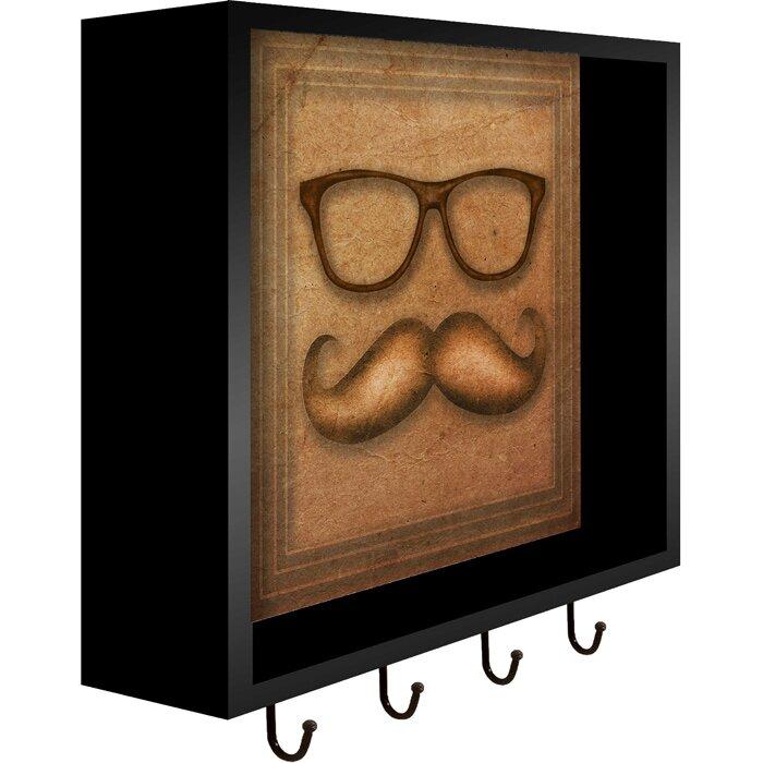 Ptm Images Glasses Wall Mounted Coat Rack Wayfair