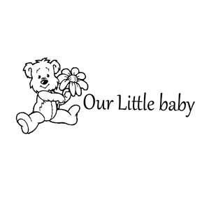 Our Little Baby Vinyl Wall Decal