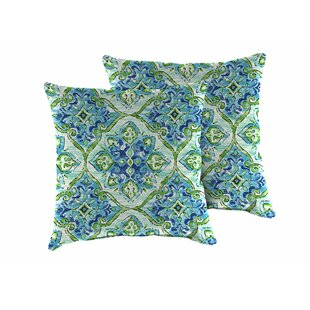 Splendor Outdoor Throw Pillow (Set of 2)