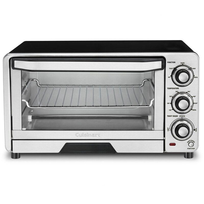 2933bb078f1 Cuisinart 0.5 Cu. Ft. Toaster Oven Broiler   Reviews