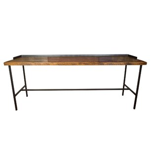 Napa East Collection Industrial Farm Console Pub Table
