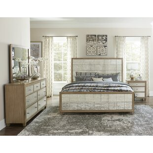 Gunnar Upholstered Panel Bed by Rosdorf Park