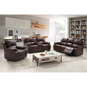 Living In Style Reno 3 Piece Living Room Set