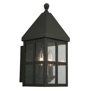 Gracie Oaks Weathersby Outdoor Wall Lantern