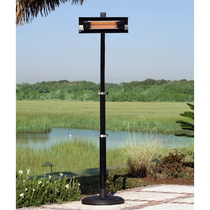 Paramount Infrared 1500 Watt Electric Patio Heater with ...
