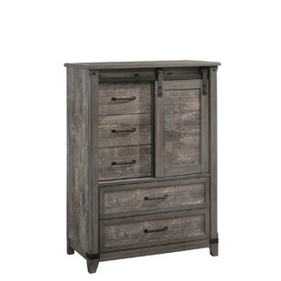 Forest Hill 2 Tone 5 Drawer Gentleman's Chest by Gracie Oaks Find