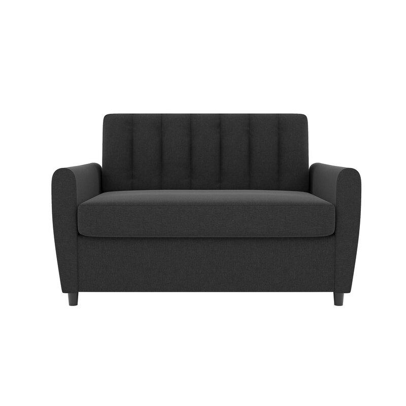 novogratz brittany sleeper sofa bed reviews wayfair. Black Bedroom Furniture Sets. Home Design Ideas