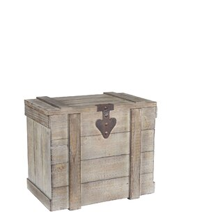 Great choice Medium Wooden Home Chest By Household Essentials