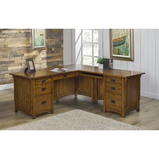 Loon Peak Limon L-Shape Executive Desk