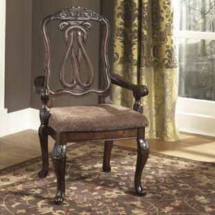 Astoria Grand Chapell Upholstered Dining Chair (Set of 2)