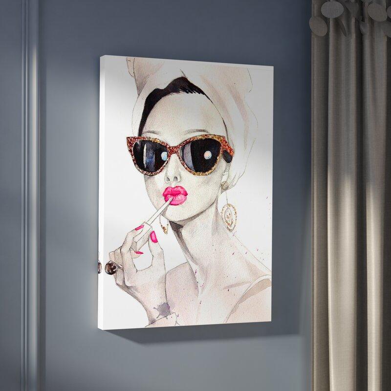 29e24d2a320d7 Willa Arlo Interiors  Audrey Hepburn  Painting Print on Canvas ...