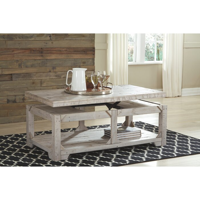 Ezio Lift Coffee Table With Top