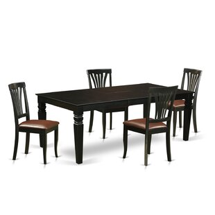 Apfel 5 Piece Dining Set by DarHome Co Bargain
