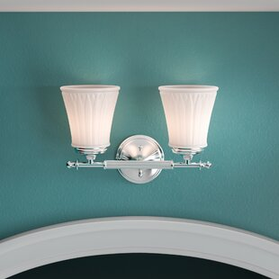 Charlton Home Stauffer 2-Light Vanity Light