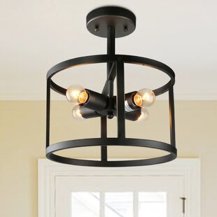 4-Light Semi Flush Mount by LNC Home