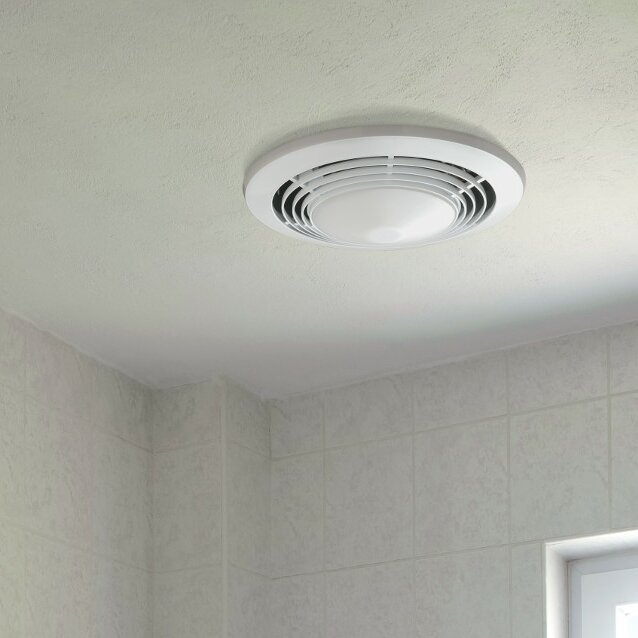 Broan 70 Cfm Bathroom Fan With Heater And Light Reviews Wayfair
