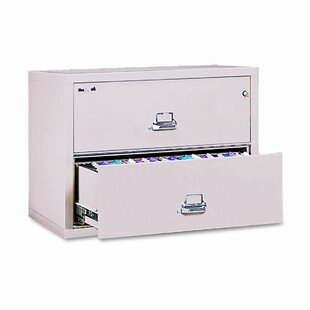 Fireproof Insulated 2-Drawer Lateral File