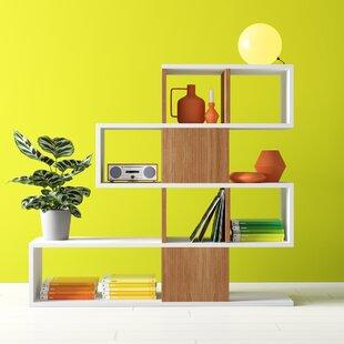 Dakota Geometric Bookcase By Hashtag Home