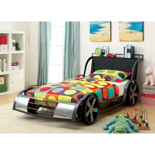 Price comparison Sporty Racer Twin Car Bed by Hokku Designs Reviews (2019) & Buyer's Guide