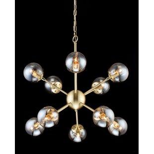 Buy luxury Stickles 10-Light Chandelier By Wrought Studio