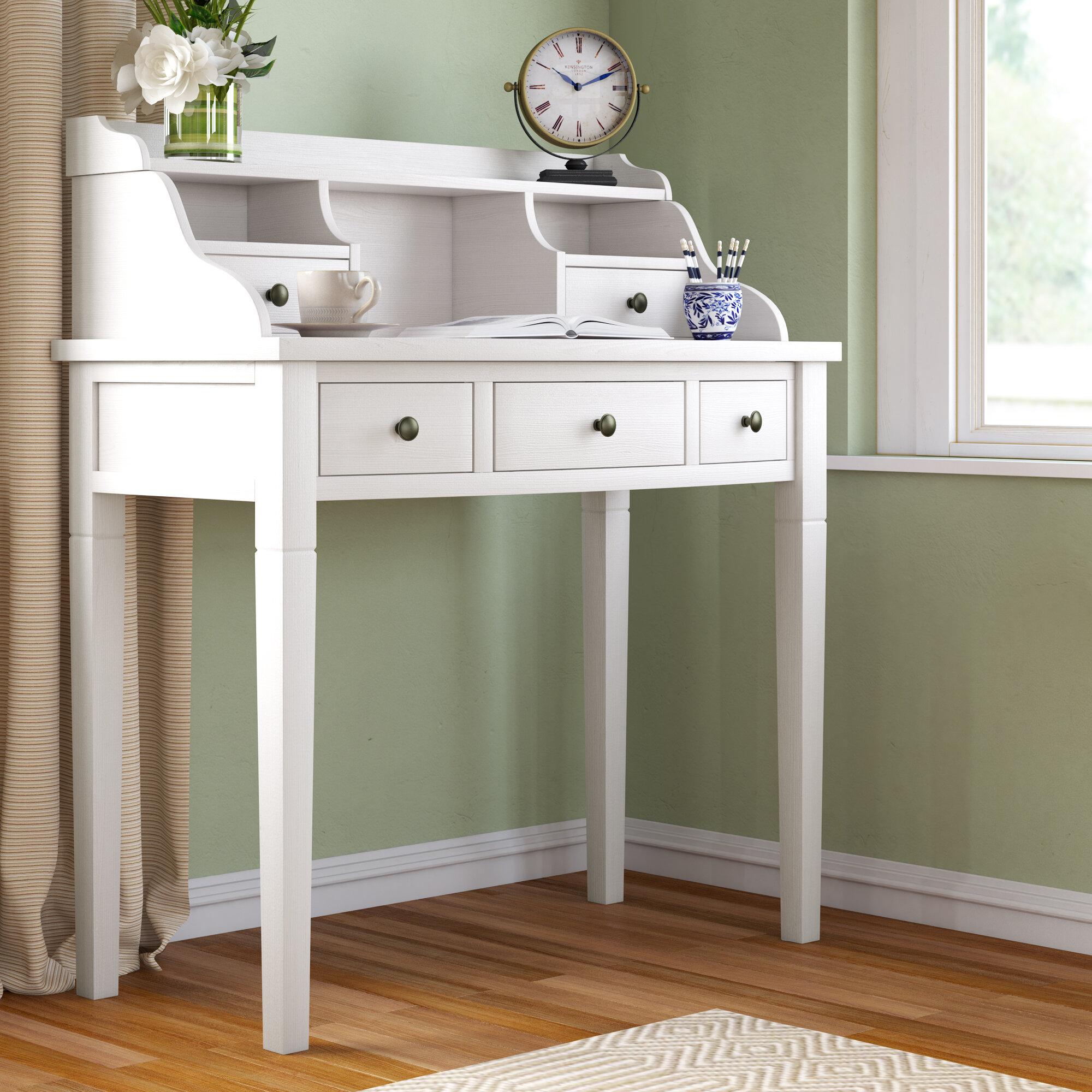 Hutch White Desks You Ll Love In 2020