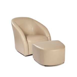 Loon Peak Knight Lounge Chair and Ottoman