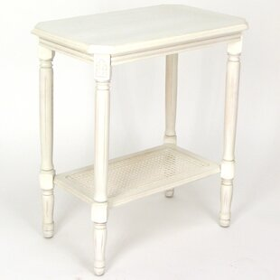 Britt End Table by Alcott Hill