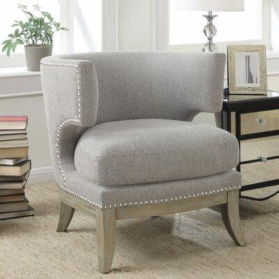 Remarkable Gracie Oaks Shepherds Barrel Chair Upholstery Gray Dailytribune Chair Design For Home Dailytribuneorg