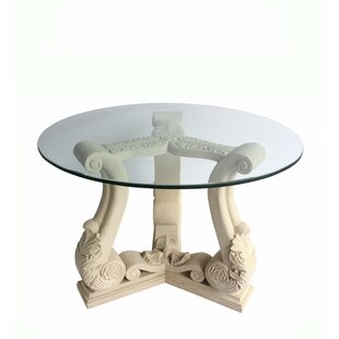 Clyda Stone Dining Table by Astoria Grand