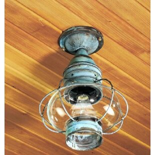 Brass Traditions 600 Series Outdoor Semi Flush Mount
