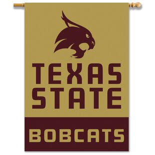 NCAA 2-Sided Polyester 3'4 x 2'4ft. House Flag By Team Pro-Mark