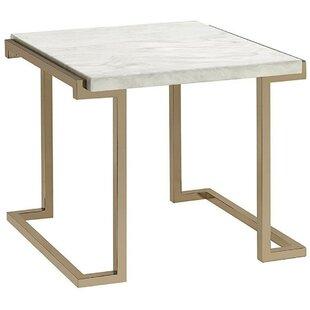 New Fairfield End Table by Everly Quinn