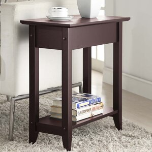 Williams Flip Top End Table With Stora..