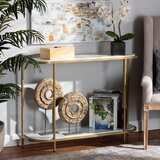 Mansfield 43.3 Console Table by Everly Quinn