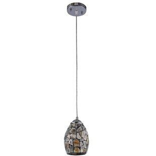 Oboyle Mosaic 1-Light Cone Pendant by Bloomsbury Market