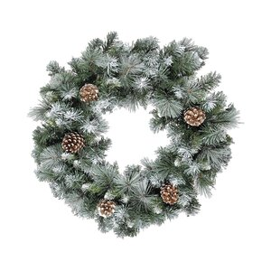 Frosted Glacier Wreath