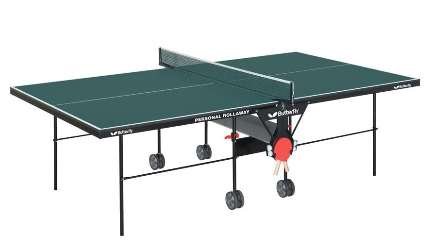 Butterfly Personal Rollaway Table Tennis Table & Reviews | Wayfair