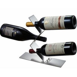 Chablis 3 Bottle Tabletop Wine Rack by Vi..