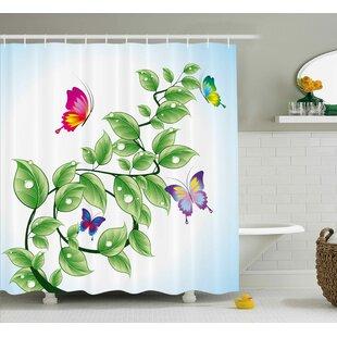 Fran Single Shower Curtain
