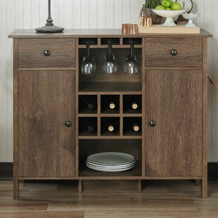 Pitzer Bar with Wine Storage by Canora Grey