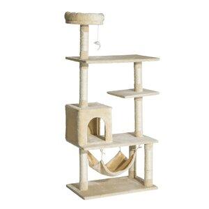 Boots Multi-Scratcher Scratching Post Cat Tree