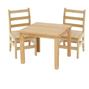 Best Kids 3 Piece Table and Chair Set By ECR4kids