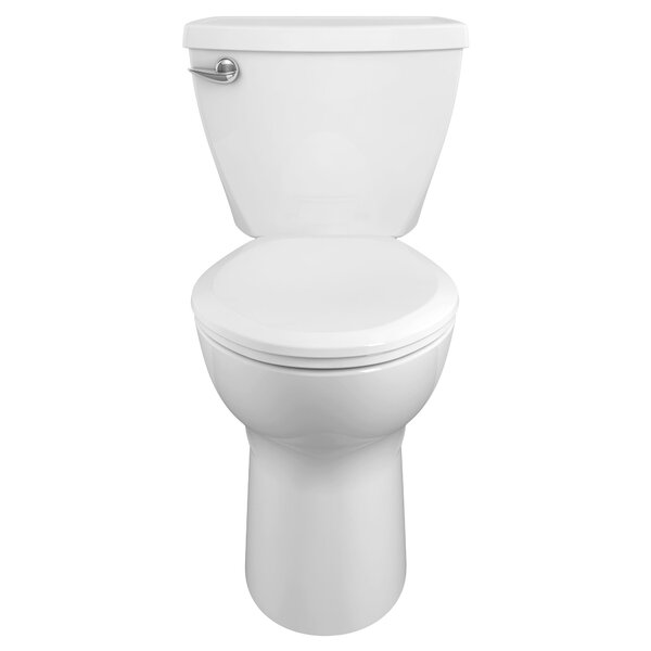 American Standard Cadet 3 1 6 Gpf Elongated Two Piece Toilet Seat Not Included Wayfair