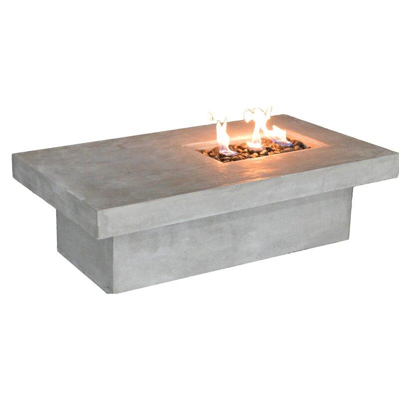 Feruci Concrete Bio Ethanol Fuel Fire Pit Wayfair