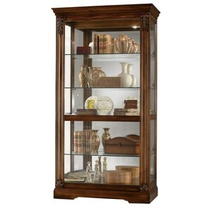 Andreus Tuscany Lighted Curio Cabinet by Howard Miller®