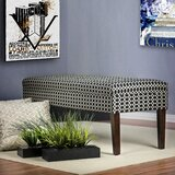 Terese Ikat Upholstered Bench by Red Barrel Studio®