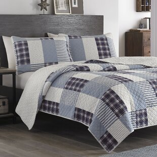 Camano Island 5 Piece Reversible Quilt set